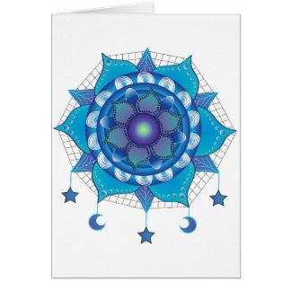 Mandala Dream Catcher Card