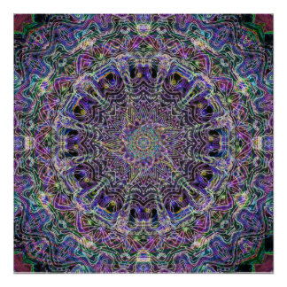 Mandala Dream Catcher Poster