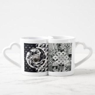 Mandala & Endless Knot Couples Mug