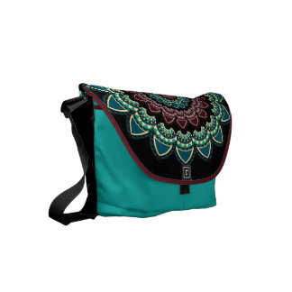 Mandala ethnic courier bag