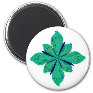 Mandala Ethno green deco Magnet