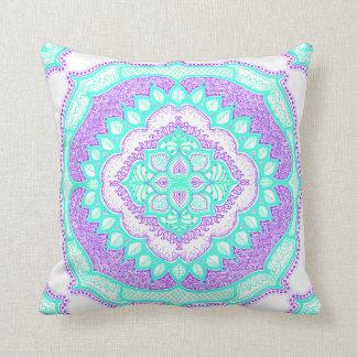 Mandala Floral Pattern Design Art Doodle Pillow