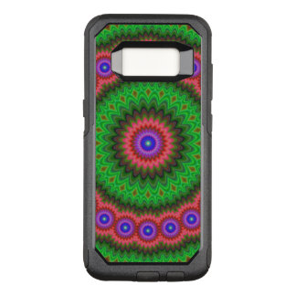 Mandala flower bouquet OtterBox commuter samsung galaxy s8 case