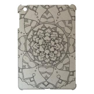 mandala flower case for the iPad mini