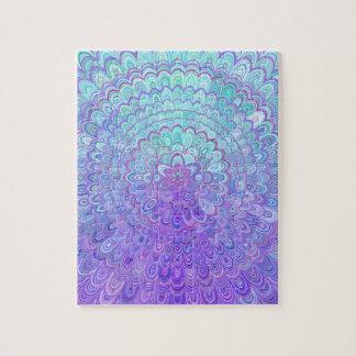 Floral Mandala Jigsaw Puzzles | Zazzle.com.au