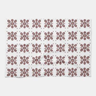 Mandala Flower Pattern Hand Towel