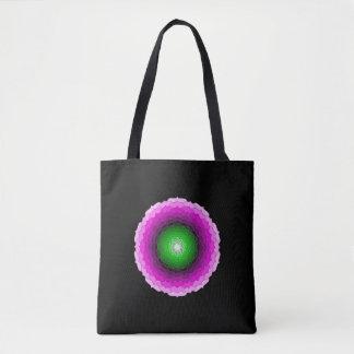 Mandala Flower tote bag 1