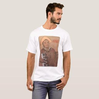 Mandala Forró, Dominguinhos in Front T-Shirt