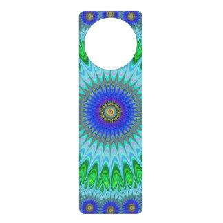 Mandala fractal door hangers