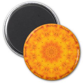 Mandala 'Garden' 6 Cm Round Magnet