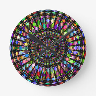 Mandala Gifts Round Clock