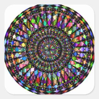 Mandala Gifts Square Sticker