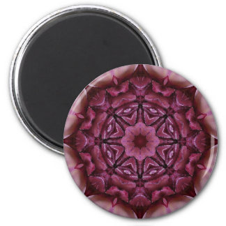 Mandala 'Goa' 6 Cm Round Magnet