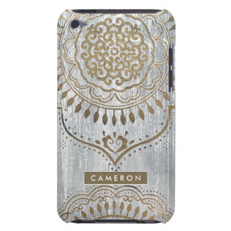 Mandala Gold Design Barely There iPod Cover