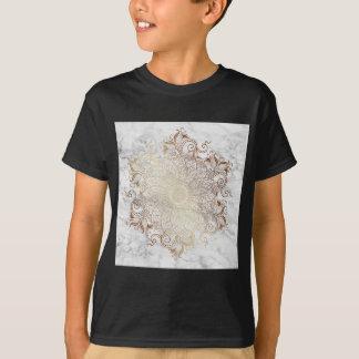 Mandala - Gold & Marble T-Shirt