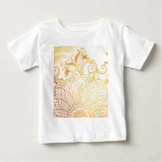 Mandala - Golden brush Baby T-Shirt