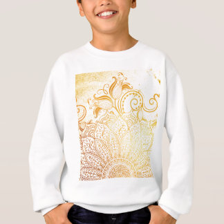 Mandala - Golden brush Sweatshirt