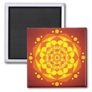 Mandala Happiness Fridge Magnets