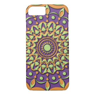 Mandala in Faux-Plastic Relief iPhone 7 Case