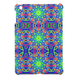 Mandala In Green And Blue iPad Mini Cover