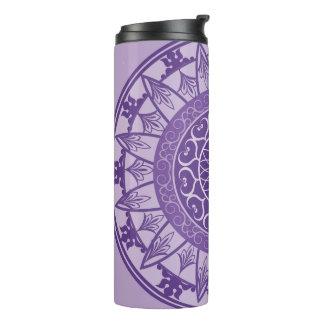 Mandala in Purple Thermal Tumbler