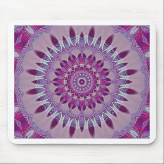 Mandala indians purple created by Tutti Mouse Pad