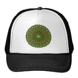Mandala Inspired Flower Trucker Hat