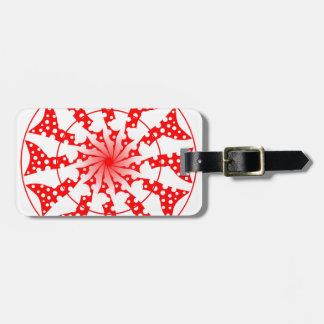 Mandala isolated Pattern Luggage Tag