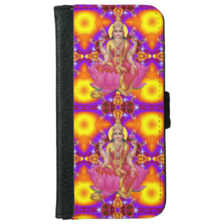 Mandala - Lakshmi Solatile iPhone 6 Wallet Case