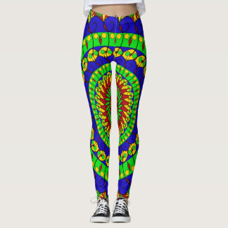 Mandala - Large Pattern Leggings