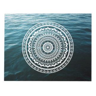 Mandala Let sea set you free Notepad