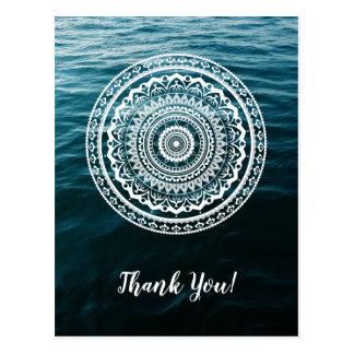 Mandala Let sea set you free Postcard