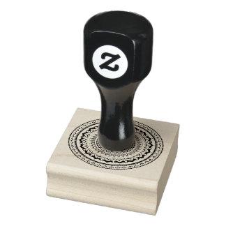 Mandala Let sea set you free Rubber Stamp