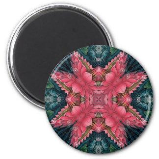 Mandala Lotus Magnets