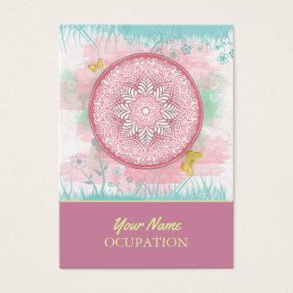 MANDALA ~ Lotus Of Spring - Business Cards