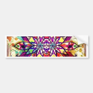 Mandala Magic Bumper Sticker