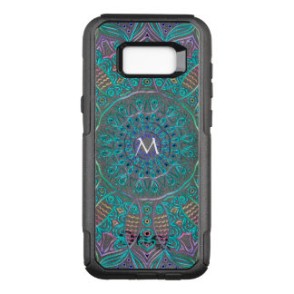 Mandala Monogram Otterbox Galaxy Edge S8 Case