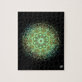 Mandala monsters jigsaw puzzle