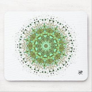Mandala monsters mouse pad