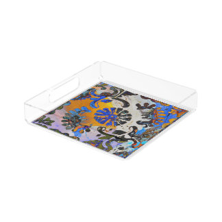 Mandala Mosaic Vanity Tray
