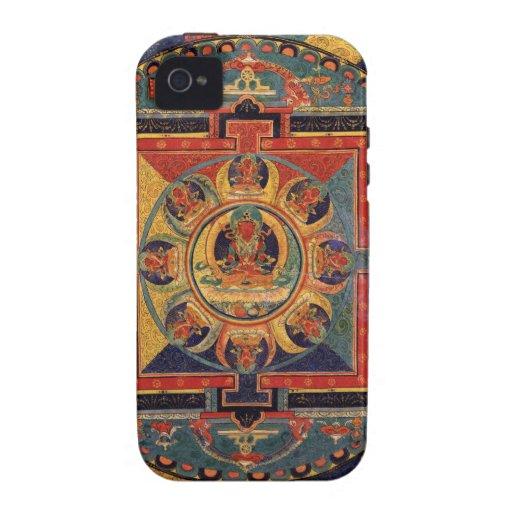 Mandala of Amitayus. 19th century Tibetan school Vibe iPhone 4 Case