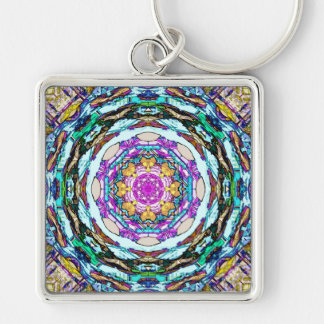 Mandala of Light Key Ring