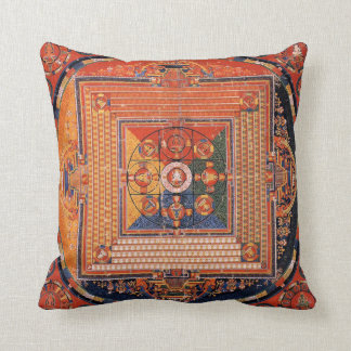Mandala of Vajradhatu Thangka Cushion