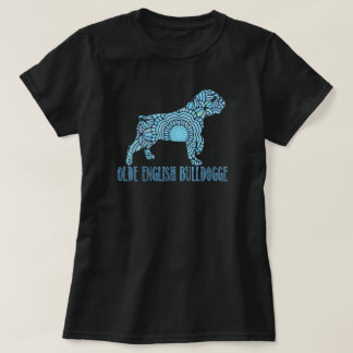 Mandala Olde English Bulldogge T-Shirt