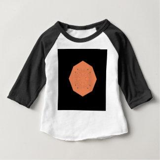 Mandala orange Folk Ethno Baby T-Shirt