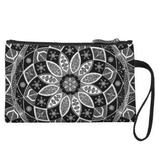 Mandala Oriental Art Pattern Design drawing clutch