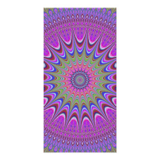 Mandala ornament picture card