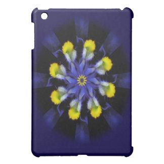 Mandala Pansy Purple & Yellow iPad Case