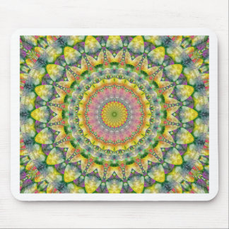 Mandala Patchwork no. 3 created by Tutti Mouse Pad