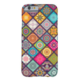 Mandala pattern colourful Moroccan Barely There iPhone 6 Case